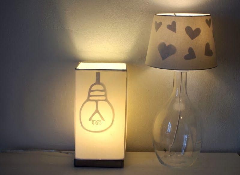 Reveal-hidden-lampshade-silhouettes-DIY