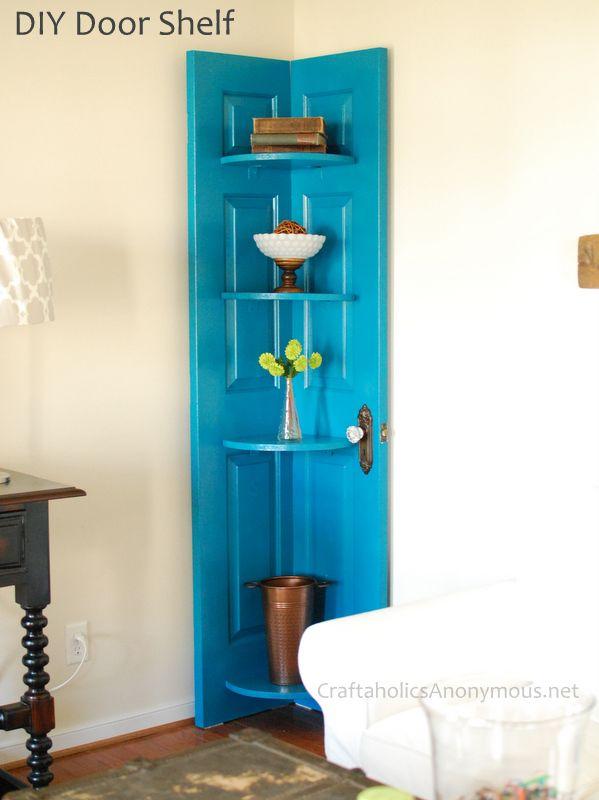Blue-door-corner-shelf