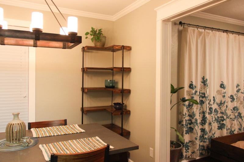 Industrial-corner-standing-shelf
