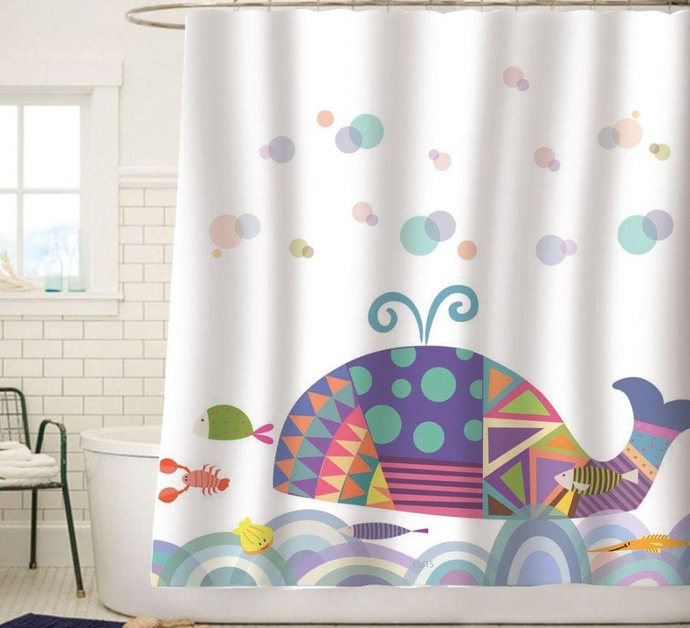 Sunlit-Colorful-Geometric-Whale-Waves-Bubble-Shower-Curtain