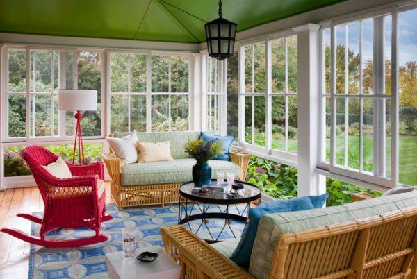 bright-rocking-chair-sunroom