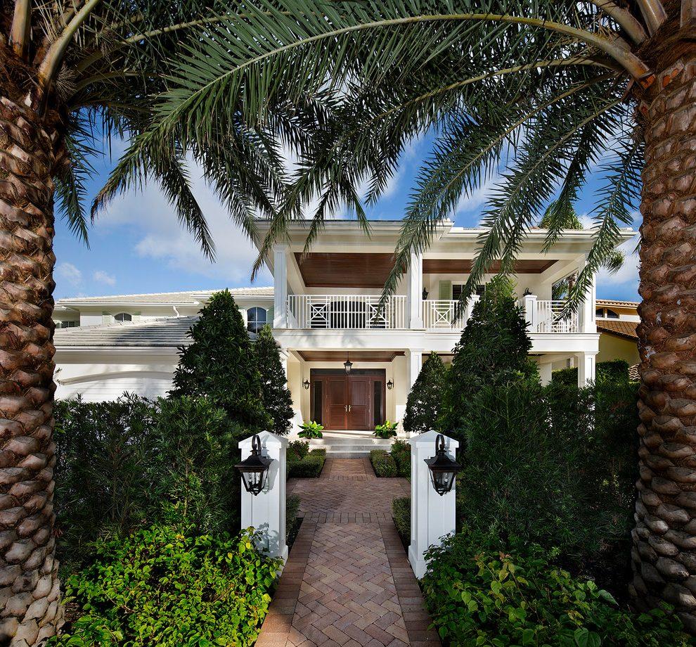 miami_front_porch_entrances_with_solid_color_hammocks_exterior_tropical_and_hip_