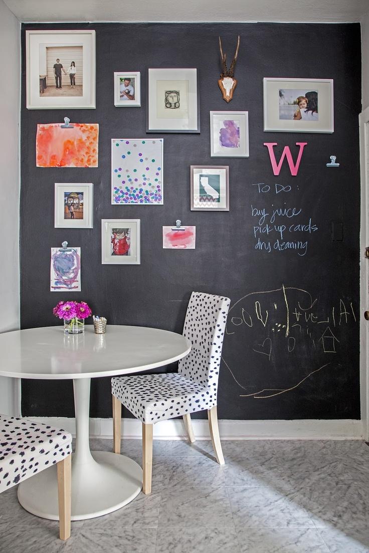 Chalkboard-accent-wall